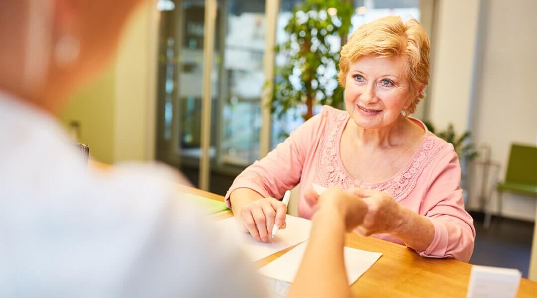 Info und Anmeldung Patientin