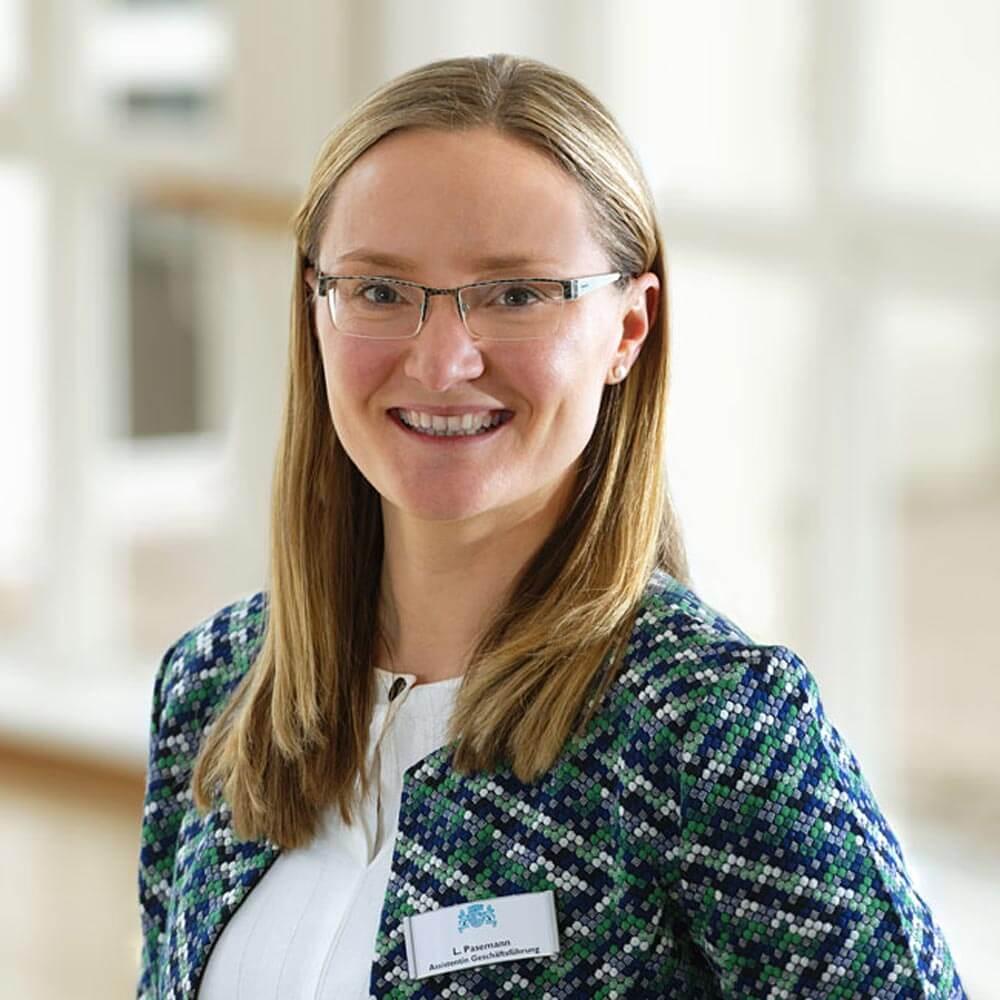 Assistenz der Geschäftsführung Lydia Pasemann