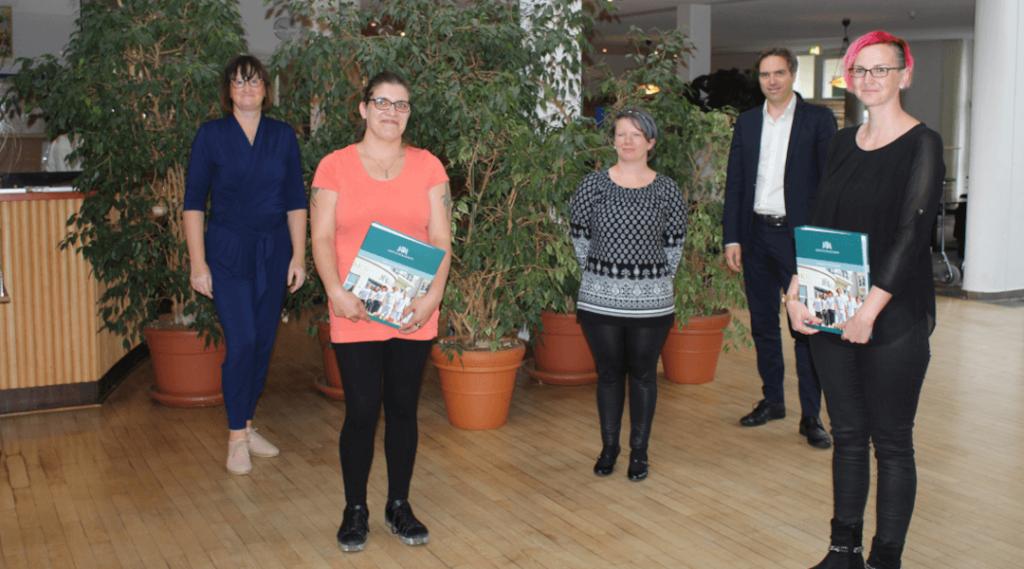 Ausbildung neue Azubis in der Moritz Klinik für bundesweit neue generalistische Pflegeausbildung