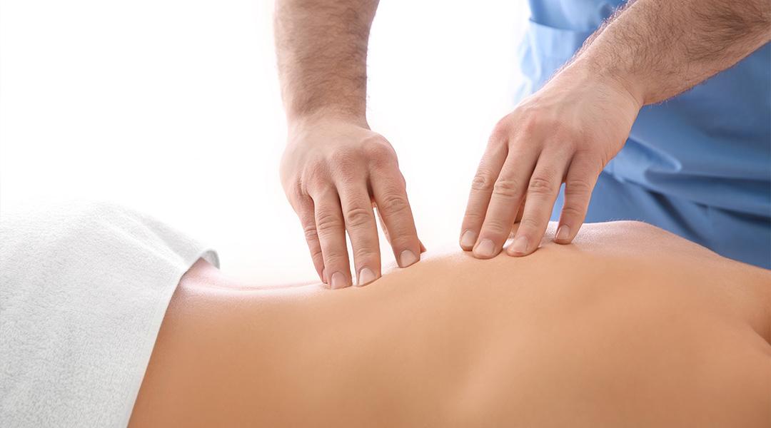 Massage in der Psysikalischen Therapie