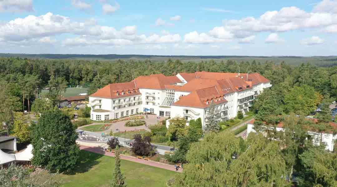 Die Moritz Klinik in der Drohnen Ansicht