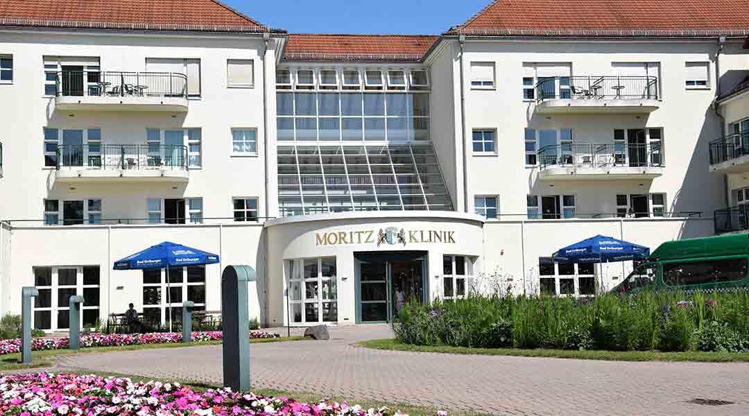 Haupteingang der Moritz Klinik