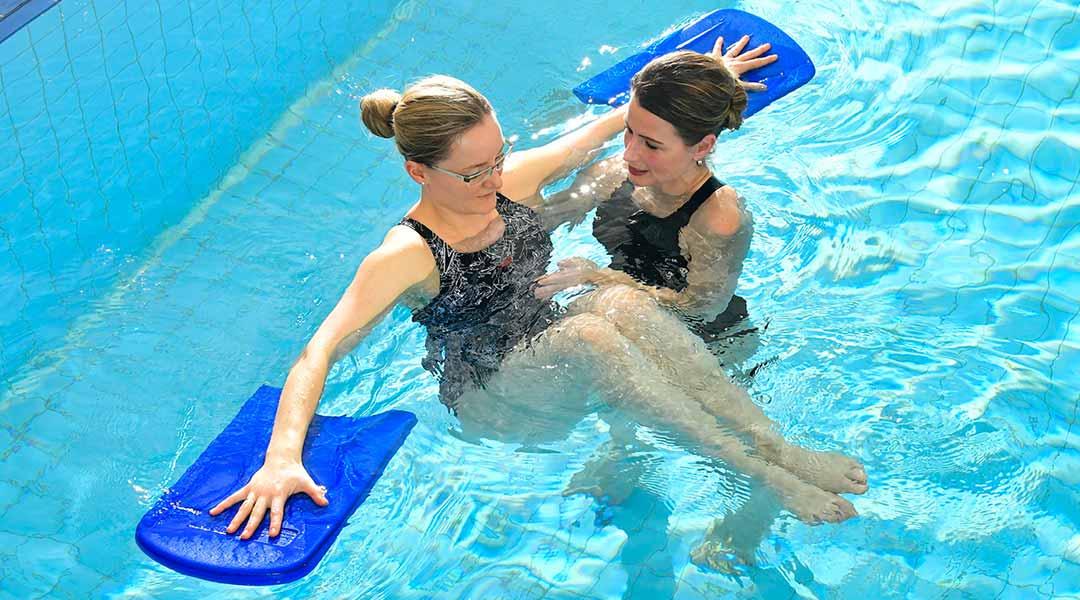 Physiotherapie im Bewegungsbad