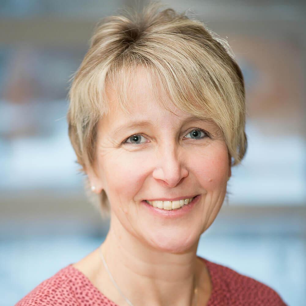 Frau Simone Hesse aus der Verwaltung / Patientenaufnahme