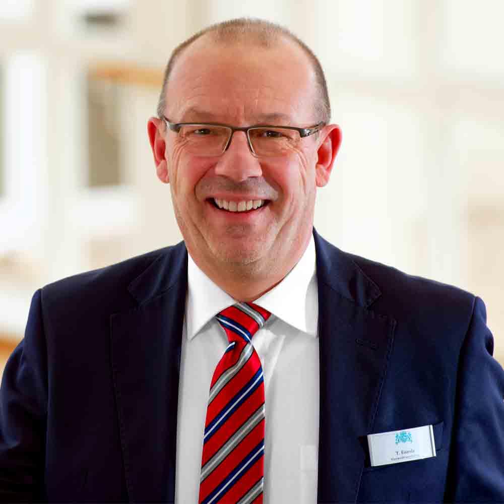 Verwaltungsleitung und Qualitätsmanagementbeauftragter Thomas Eisenla