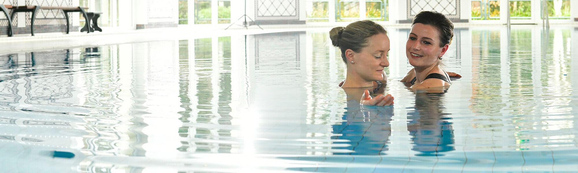 Wassertherapie im Bewegungsbad der Moritz Klinik